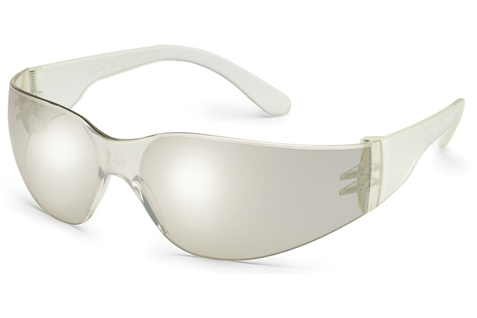 Clear Lens Box of 10 3680 Clear Temple, Gateway Safetys Smaller-Sized StarLite SM Safety Glasses