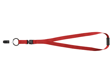 Bag of 10 Gateway Safety 431 Gizmo Cotton Eyewear Retainer Inc Red
